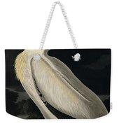 American White Pelican Weekender Tote Bag