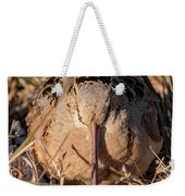 American Woodcock Head On Weekender Tote Bag