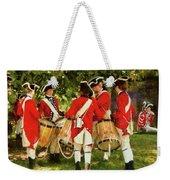 Americana - People - Preparing For Battle Weekender Tote Bag