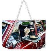 Americana - The Car Hop Weekender Tote Bag by Paul Ward