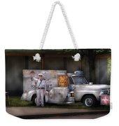 Americana -  We Sell Ice Cream Weekender Tote Bag by Mike Savad