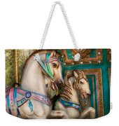 Americana - Carousel Beauties Weekender Tote Bag