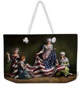 Americana - Flag - Birth Of The American Flag 1915 Weekender Tote Bag