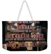 Americana - Food - Menu  Weekender Tote Bag