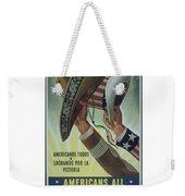 Americans All Weekender Tote Bag