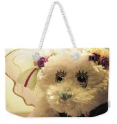 Amethyst Fairy Bear Weekender Tote Bag