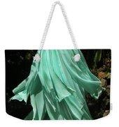 Ameynra Design Aqua-green Chiffon Skirt Weekender Tote Bag