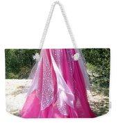Ameynra Design - Pink-white Petal Skirt 146 Weekender Tote Bag