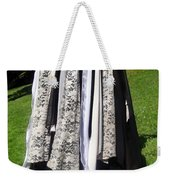 Ameynra Fashion Gothic Skirt With Lace Weekender Tote Bag