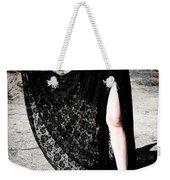 Ameynra Gothic Fashion By Sofia Metal Queen. Lace Skirt 168 Weekender Tote Bag