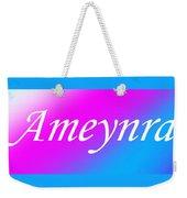 Ameynra - Logo 003 Weekender Tote Bag