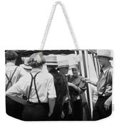 Amish Auction Day Weekender Tote Bag