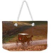 Amish Buggy Afternoon Sun Weekender Tote Bag