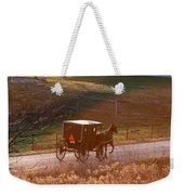 Amish Buggy Afternoon Sun Weekender Tote Bag