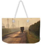 Amish Buggy And Corn Over Your Head Weekender Tote Bag