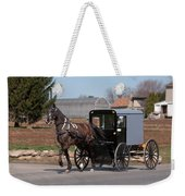 Amish Buggy And High Stepper Weekender Tote Bag