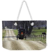 Amish Buggy March 2016 Weekender Tote Bag