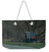Amish Buggy Parked By A Creek Weekender Tote Bag