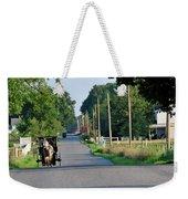 Amish Buggy Sunny Summer Weekender Tote Bag