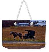 Amish Buggy Weekender Tote Bag