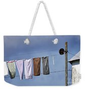Amish Clothesline Weekender Tote Bag