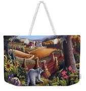Amish Country - Coon Gap Holler Country Farm Landscape Weekender Tote Bag