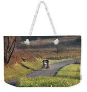 Amish Country Horse And Buggy In Autumn Weekender Tote Bag