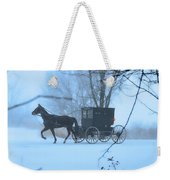 Amish Dreamscape Weekender Tote Bag by David Arment