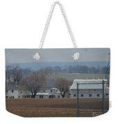 Amish Farm After Harvest Weekender Tote Bag