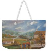 Amish Farm Weekender Tote Bag