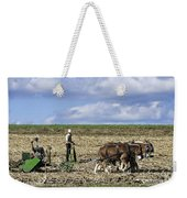 Amish Farmer Weekender Tote Bag