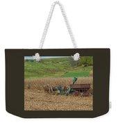 Amish Harvest In Ohio  Weekender Tote Bag