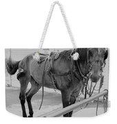 Amish Horse Weekender Tote Bag