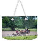Amish Lady Disking Weekender Tote Bag