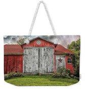Amish Red Barn Weekender Tote Bag