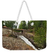 Amity Creek Falls Weekender Tote Bag