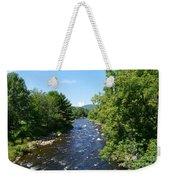 Ammonoosuc River Weekender Tote Bag