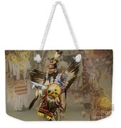 Pow Wow Among Friends Weekender Tote Bag