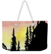 Among The Pines Weekender Tote Bag