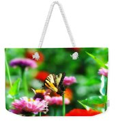 Amongst The Flowers Weekender Tote Bag