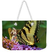 Amorous Butterfly And Faerie Weekender Tote Bag