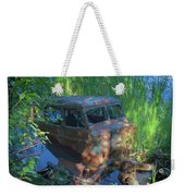 Amphibious Vehicle Weekender Tote Bag