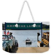 Amphicar Launch Weekender Tote Bag