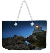 Amphitrite Point Lighthouse Weekender Tote Bag