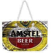 Amstel Beer Sign  Weekender Tote Bag
