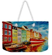Amsterdam - City Dock Weekender Tote Bag