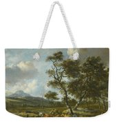 Amsterdam A Landscape With Cattle  Weekender Tote Bag