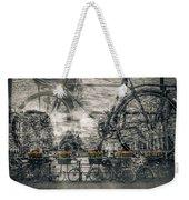 Amsterdam Bicycle Nostalgia Weekender Tote Bag