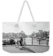 Amsterdam Bike Ride Weekender Tote Bag