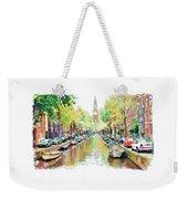 Amsterdam Canal 2 Weekender Tote Bag